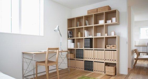 Фотография: Кабинет в стиле Эко, Дом, Дома и квартиры, Япония – фото на InMyRoom.ru