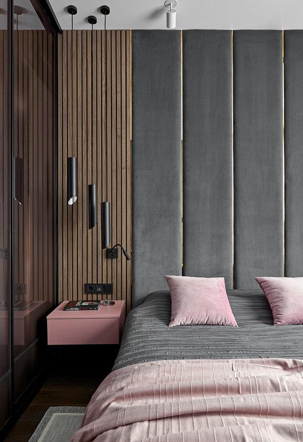 Фотография: Спальня в стиле Современный, Проект недели, Санкт-Петербург, 2 комнаты, 60-90 метров – фото на INMYROOM