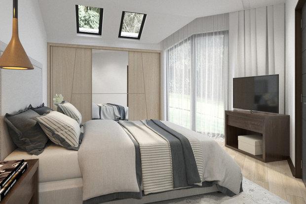 Фото из портфолио Загородный дом с мансардой – фотографии дизайна интерьеров на INMYROOM