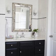 Фотография: Ванная в стиле Кантри, Классический, Декор интерьера, Декор, Переделка, Ремонт на практике – фото на InMyRoom.ru