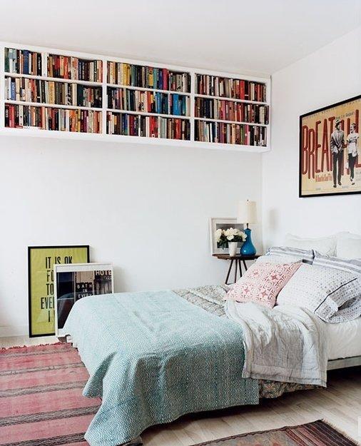 Фотография: Спальня в стиле Скандинавский, Декор интерьера, Декор дома, Системы хранения – фото на InMyRoom.ru