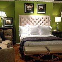 Фотография: Спальня в стиле Классический, Декор интерьера, Квартира, Дом, Декор, Зеленый – фото на InMyRoom.ru