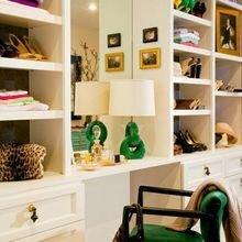 Фотография: Декор в стиле , Гардеробная, Хранение, Интерьер комнат – фото на InMyRoom.ru