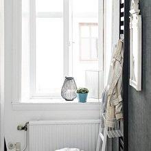 Фотография: Ванная в стиле Скандинавский, Восточный, Малогабаритная квартира, Квартира, Цвет в интерьере, Дома и квартиры – фото на InMyRoom.ru