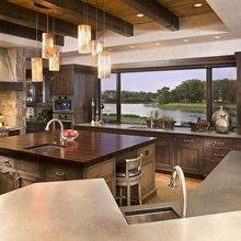 Фотография: Кухня и столовая в стиле Скандинавский, Дизайн интерьера, Большие окна – фото на InMyRoom.ru