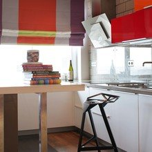 Фотография: Кухня и столовая в стиле Лофт, Современный, Эклектика, Квартира, Проект недели – фото на InMyRoom.ru