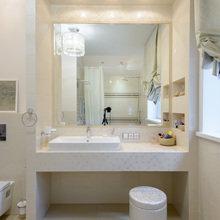 Фото из портфолио Светлая ванная комната с окном – фотографии дизайна интерьеров на INMYROOM