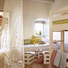 Фотография: Детская в стиле Кантри, Дом, Дома и квартиры, Балки – фото на InMyRoom.ru