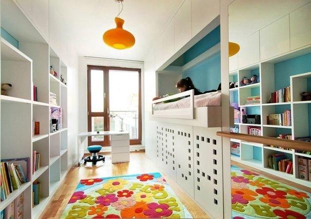Фотография: Детская в стиле Современный, Интерьер комнат, Цвет в интерьере, Белый – фото на InMyRoom.ru