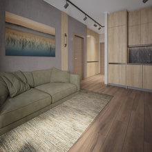 Фото из портфолио Природные цвета в интерьере квартиры в Сочи – фотографии дизайна интерьеров на INMYROOM