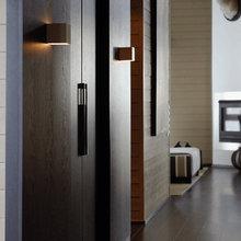 Фотография: Прихожая в стиле Кантри, Дом, Цвет в интерьере, Дома и квартиры, Бежевый, Коричневый – фото на InMyRoom.ru