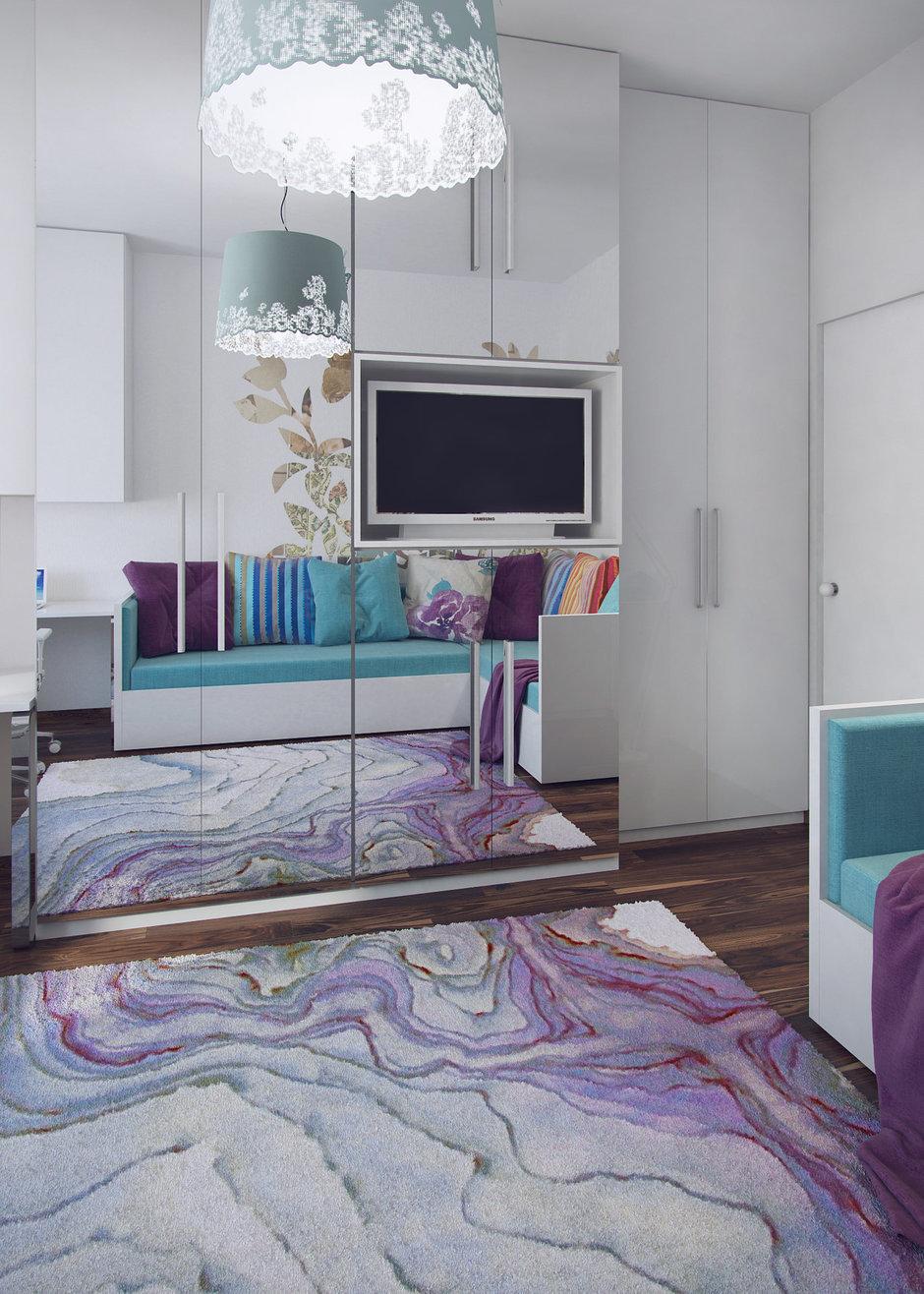 Фотография: Гостиная в стиле Современный, Эклектика, Квартира, Проект недели – фото на InMyRoom.ru
