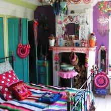 Фотография: Спальня в стиле Кантри, Декор интерьера, Дизайн интерьера, Цвет в интерьере, Белый, Серый – фото на InMyRoom.ru