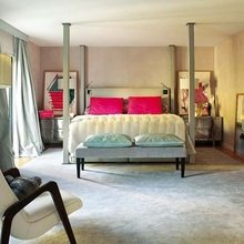 Фотография: Спальня в стиле Современный, Декор интерьера, Мебель и свет, Декор дома, Стол, Лампа, Лиссабон, Торшер – фото на InMyRoom.ru