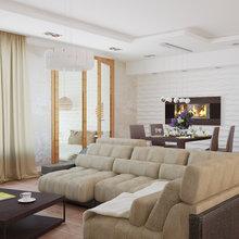 Фото из портфолио ЖК Морской Каскад, квартира 103 кв. метра – фотографии дизайна интерьеров на InMyRoom.ru
