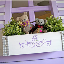 """Фото из портфолио Детская двухъярусная кровать-домик  """"Mirabelle"""" – фотографии дизайна интерьеров на InMyRoom.ru"""