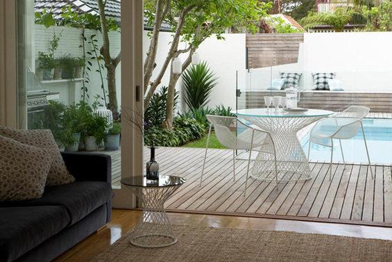 Фотография: Терраса в стиле Современный, Минимализм, Ландшафт, Стиль жизни, Сад – фото на INMYROOM