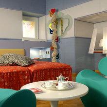 Фотография: Спальня в стиле Минимализм, Италия, Дома и квартиры, Городские места, Отель, Ампир, Барокко – фото на InMyRoom.ru