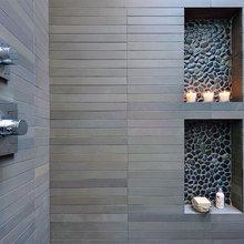 Фотография: Ванная в стиле Современный, Ремонт на практике, Гид, Квадрим, Weber Vetonit – фото на InMyRoom.ru