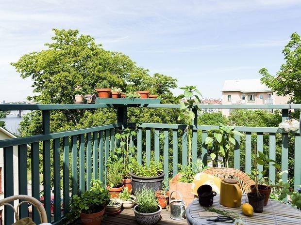 Фотография: Балкон в стиле Скандинавский, Современный, Квартира, Советы, Минимализм, 40-60 метров – фото на INMYROOM