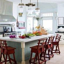 Фотография: Кухня и столовая в стиле Кантри, Декор интерьера, Мебель и свет – фото на InMyRoom.ru