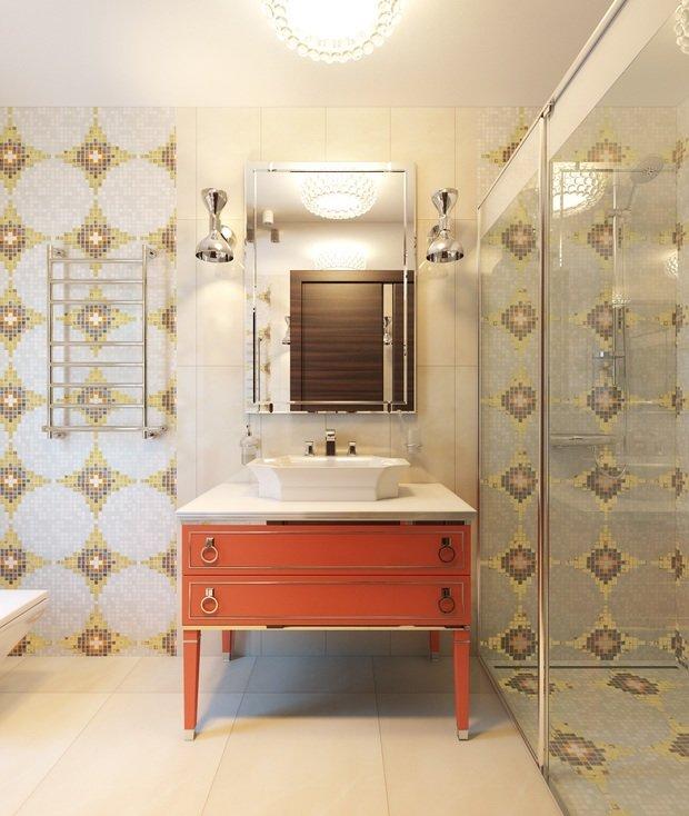 Фото из портфолио Санузел в эклектичном стиле – фотографии дизайна интерьеров на INMYROOM