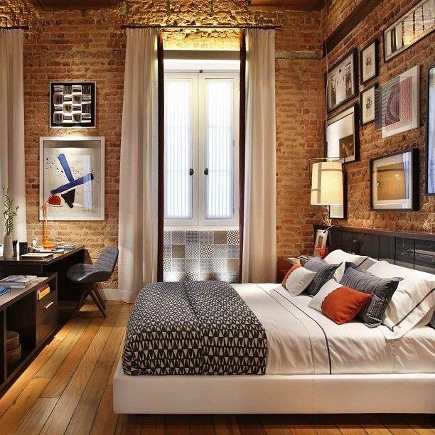 Фотография: Спальня в стиле Эклектика, Классический, Лофт, Декор, Минимализм, Ремонт на практике – фото на InMyRoom.ru