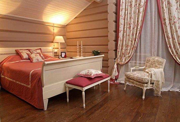 Фотография: Спальня в стиле Прованс и Кантри, Классический, Современный, Квартира, Дома и квартиры – фото на InMyRoom.ru