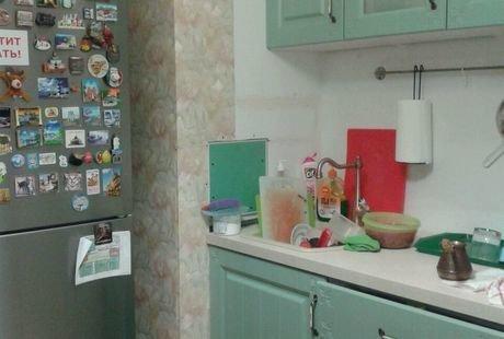 Пример того что можно сделать из кухни эконом (шкафы из Леруа Мерлен).