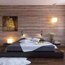 Фотография: Спальня в стиле Современный, Декор интерьера, Дом, Декор дома, Стены, Постеры – фото на InMyRoom.ru