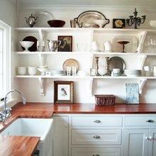 Фотография: Кухня и столовая в стиле Классический, Квартира, Мебель и свет, Переделка, Ремонт на практике – фото на InMyRoom.ru