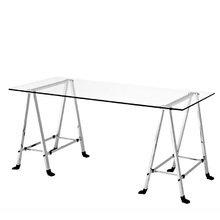 Стол Eichholtz Desk Lorentz из никелированного металла