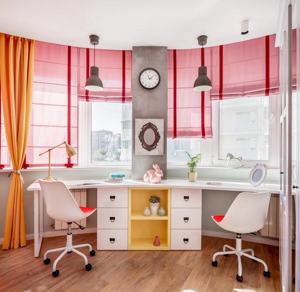 Фотография: Детская в стиле Эклектика, Кухня и столовая, Гостиная, Спальня, Декор интерьера – фото на INMYROOM