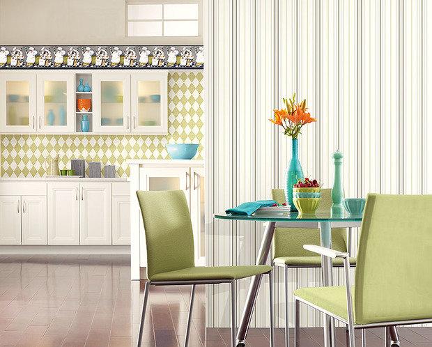 Фотография: Гостиная в стиле Современный, Декор интерьера, Декор дома, Обои – фото на InMyRoom.ru