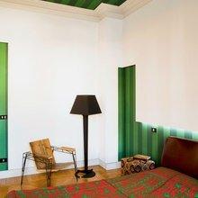 Фотография: Спальня в стиле Кантри, Современный, Декор интерьера, Архитектурные объекты, Потолок – фото на InMyRoom.ru