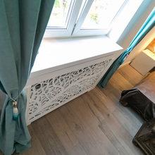 Фотография: Декор в стиле Современный, Интерьер комнат, Дача, Дачный ответ, Мансарда – фото на InMyRoom.ru