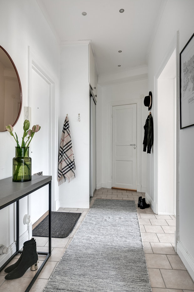 Фотография: Прихожая в стиле Скандинавский, Декор интерьера, Квартира, Швеция, Гетеборг, 2 комнаты – фото на InMyRoom.ru