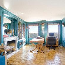 Фотография: Офис в стиле Классический, Современный, Квартира, Терраса, Дома и квартиры, Камин, Пентхаус, Ар-деко – фото на InMyRoom.ru
