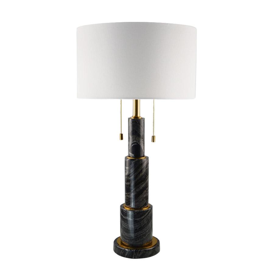 Купить Настольная лампа с мраморным основанием, inmyroom, Китай