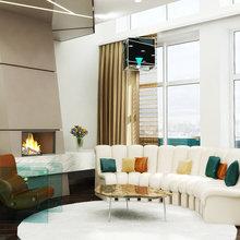 Фото из портфолио Концепт-идея интерьеров пентхауса – фотографии дизайна интерьеров на INMYROOM