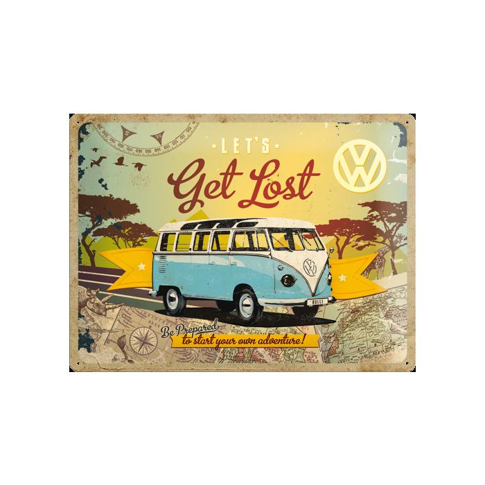Табличка с тиснением Volkswagen