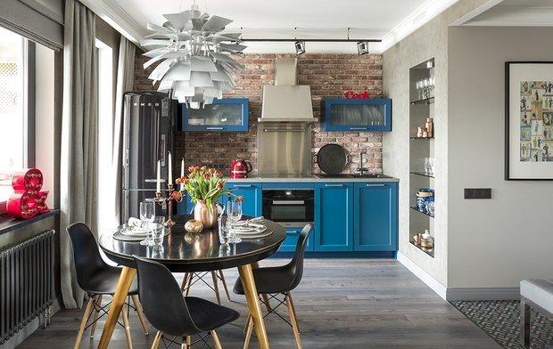 Фотография: Кухня и столовая в стиле Лофт, Женя Жданова, Гид – фото на INMYROOM