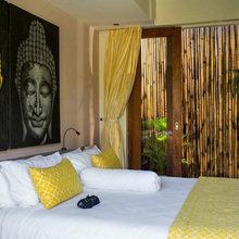 Фотография: Спальня в стиле Восточный, Дом, Дома и квартиры, Городские места, Бали – фото на InMyRoom.ru