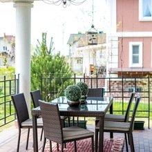 Фотография: Балкон, Терраса в стиле Кантри, Дом, Дома и квартиры – фото на InMyRoom.ru