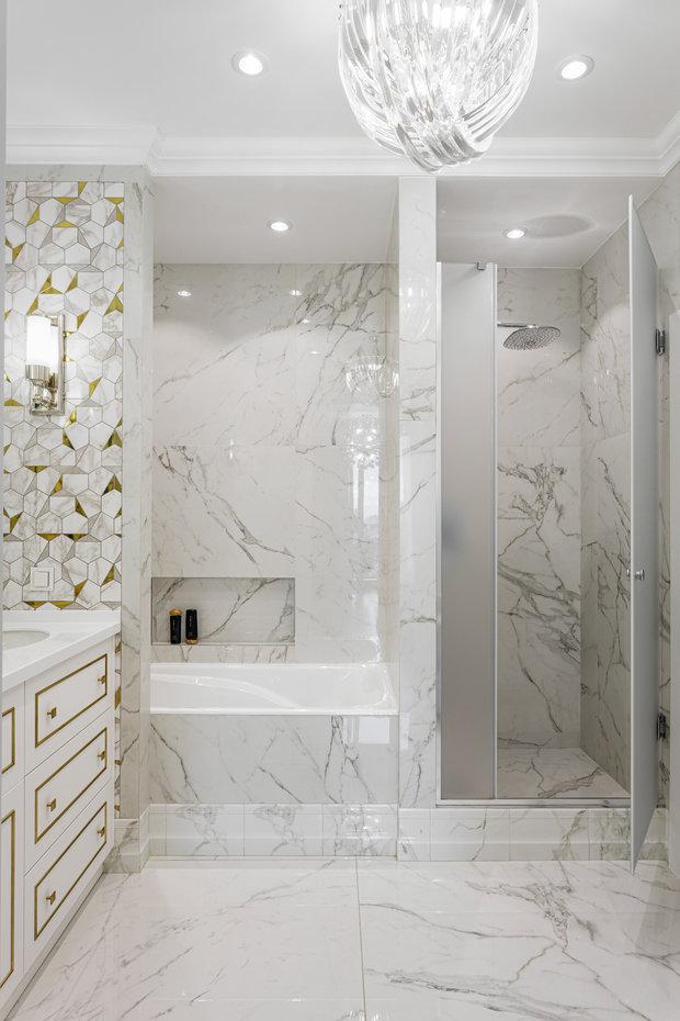 Фотография: Ванная в стиле Современный, Квартира, Проект недели, Москва, 3 комнаты, Более 90 метров, Balcon – фото на INMYROOM