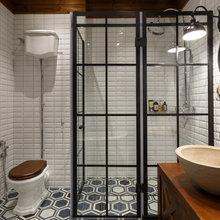 Фотография: Ванная в стиле Скандинавский, Квартира, Проект недели – фото на InMyRoom.ru
