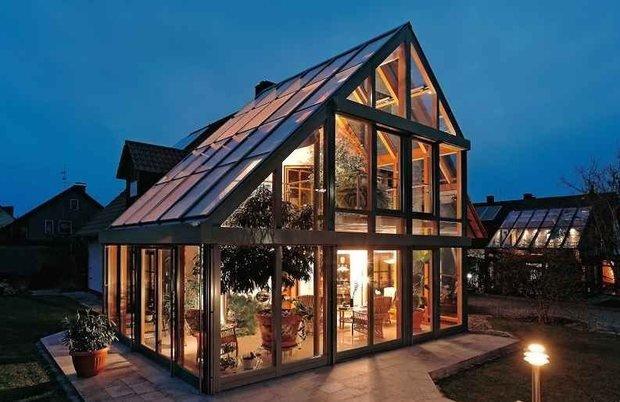Фотография: Архитектура в стиле , Балкон, Дом, Дома и квартиры – фото на InMyRoom.ru