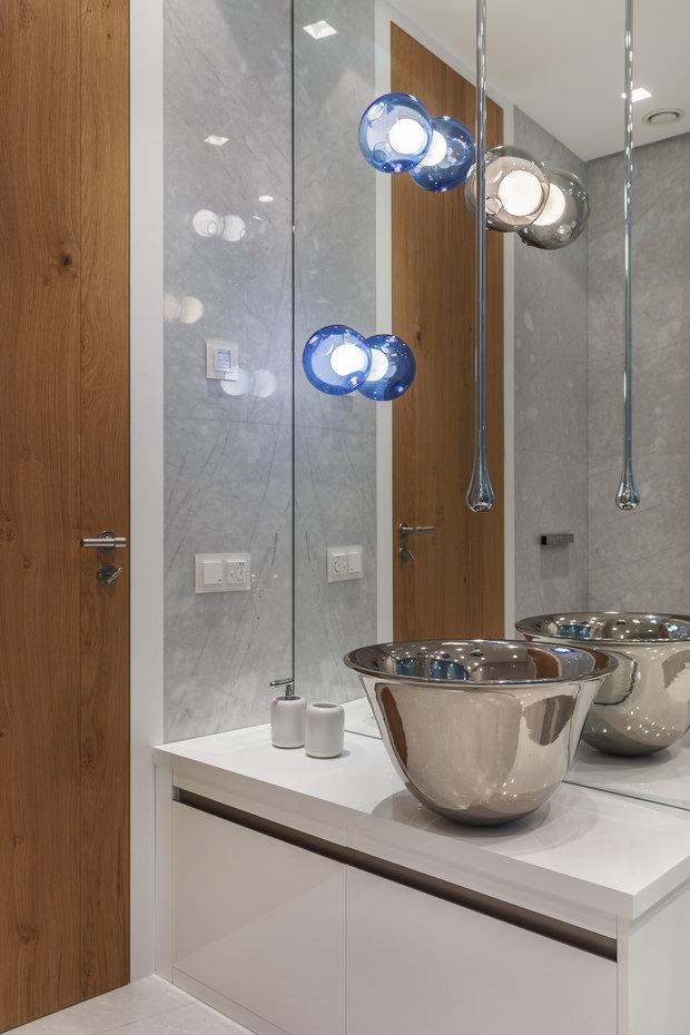 Фотография: Ванная в стиле Хай-тек, Проект недели, Москва, Более 90 метров, #эксклюзивныепроекты, ЖК «Легенда Цветного», Ab-architects – фото на INMYROOM