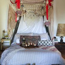 Фотография: Спальня в стиле Кантри, Современный, Восточный, Интерьер комнат – фото на InMyRoom.ru