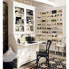 Фотография: Кабинет в стиле Кантри, Дом, Дома и квартиры, Стол – фото на InMyRoom.ru